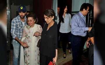Ranbir Takes Katrina Out For Dinner With Mom And Granny