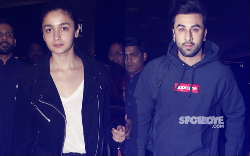 Alia Bhatt & Ranbir Kapoor Leave Mumbai, Have SPECIAL PLANS For New Year's Eve