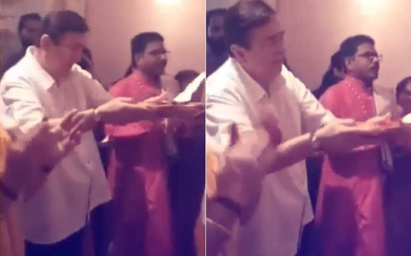 Randhir Kapoor Gets Emotional While Performing Aarti At RK Studio's Last Ganesh Chaturthi- Watch Video