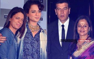 Now, Kangana Ranaut's Sister Rangoli Gets A DEFAMATION NOTICE from Aditya Pancholi & Zarina Wahab