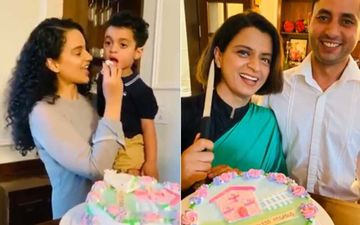Kangana Ranaut's Sister Rangoli's Housewarming Party Is All About Family Love, Laughter And Candid Clicks- VIDEO