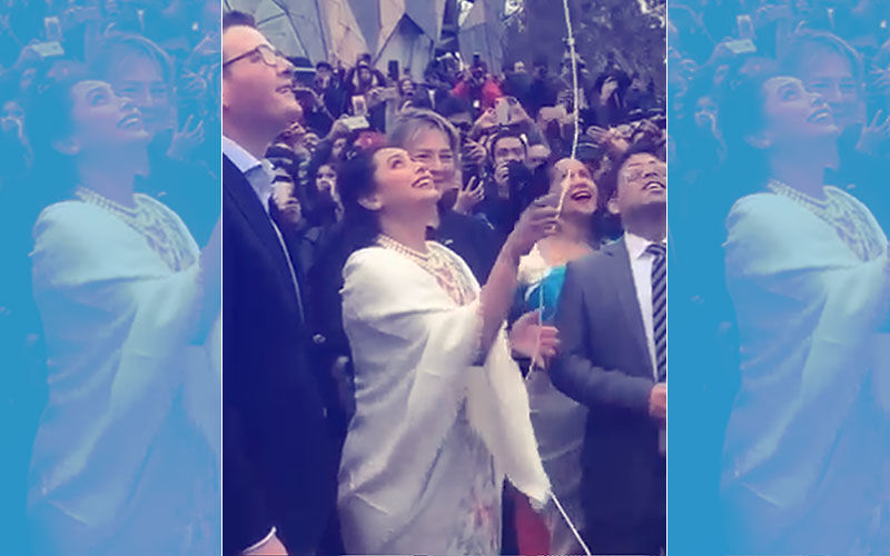 Rani Mukerji Hoists India's Flag At Indian Film Festival Of Melbourne