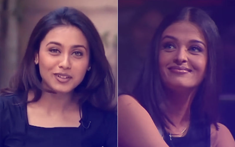 Video: When Rani Mukerji Addressed Aishwarya Rai As  'Aishu Maa' 20 Years Back