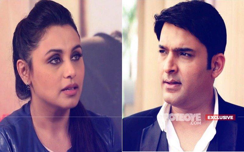 Incorrigible Kapil Sharma Cancels Hichki Superstar Rani Mukerji's Shoot