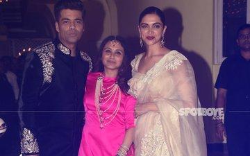 See The Pictures Of Rani Mukerji-Aditya Chopra's Diwali Party, Last Night
