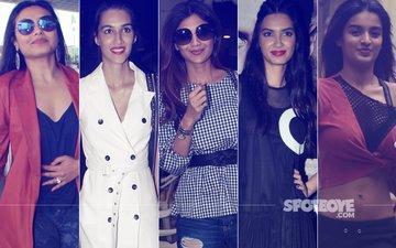 STUNNER OR BUMMER: Rani Mukerji, Kriti Sanon, Shilpa Shetty, Diana Penty Or Nidhhi Agerwal?