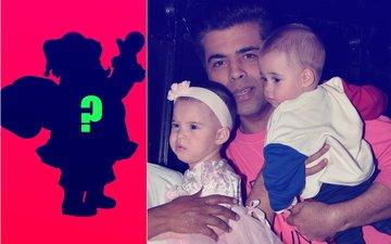 This Super Actress Turned Santa Claus for Karan Johar's Babies, Yash & Roohi