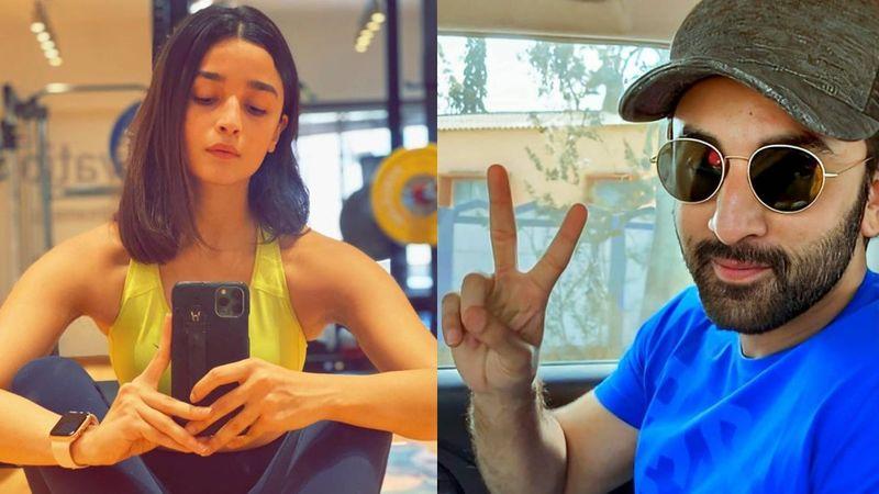 Did Ranbir Kapoor Just Give Alia Bhatt A Sexy New Haircut At Home? Fans Compliment Ms Bhatt, Say 'Lai Bhari'