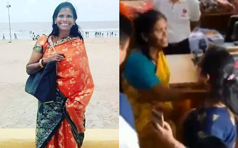 Internet Sensation Ranu Mondal Throws A Fit At An Innocent Fan Who Requested Her For A Selfie – Watch Video