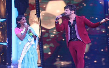 Himesh Reshammiya Wins Hearts By Recording A Song With Viral Sensation Ranu Mondal: Watch Video