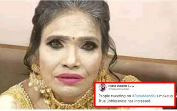Ranu Mondal Trolled For Plastering Layers Of OTT Make-Up; Fans Jump To Her Rescue, Say, 'Cut Her Some Slack'