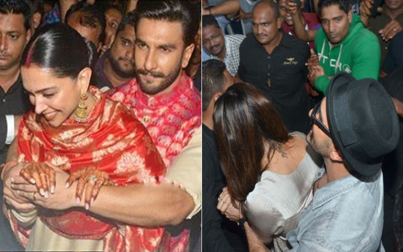 Caring Boyfriend Then, Equally Caring Husband Now: Ranveer Singh Shields Deepika Padukone From Paparazzi Mob