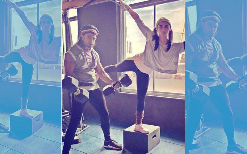 Ranveer Singh & Alia Bhatt Sweat It Out In The Gym