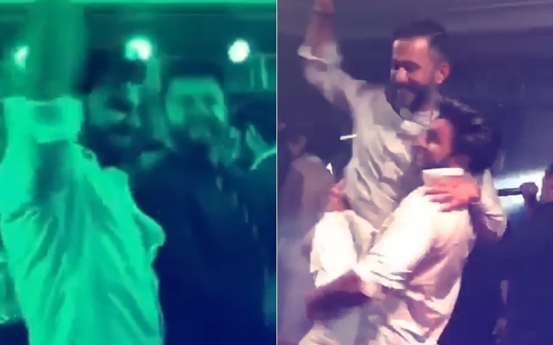 वीडियो: सोनम के रिसेप्शन में सलमान और शाहरुख ही नहीं अर्जुन और रणवीर ने भी खूब जमाया रंग