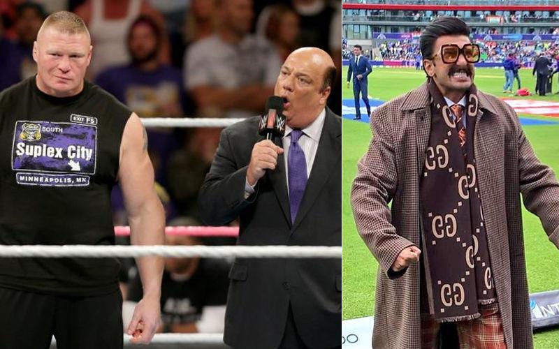 Ranveer Singh Receives Legal Notice From WWE Wrestler Brock Lesnar's Advocate Paul Heyman