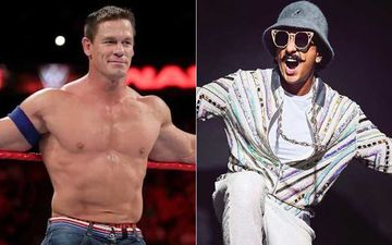 WWE Wrestler John Cena Shares A Picture Of Ranveer Singh On His Instagram Account; Actor Has An EPIC Response