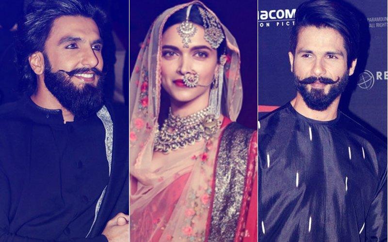 Just In: Ranveer Singh, Deepika Padukone & Shahid Kapoor Share First Glimpse Of Padmavati