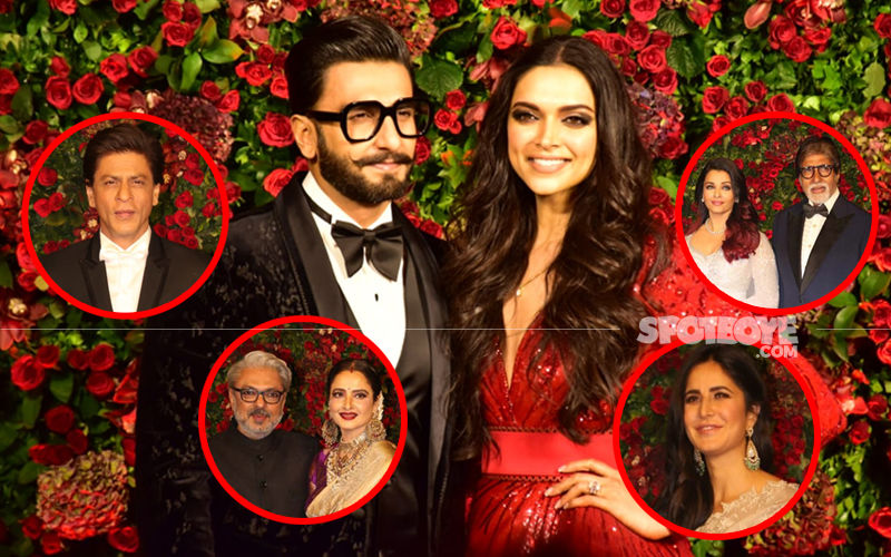 Ranveer-Deepika's Starry Reception Saw B-Town Dazzle Bright: From SRK, Bachchans, SLB To Katrina Kaif, A Quick Dekko At The Long List