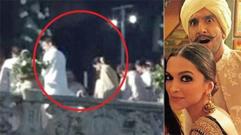 इटली में शादी रचाने वाले रणवीर और दीपिका की तस्वीरें आई सामने