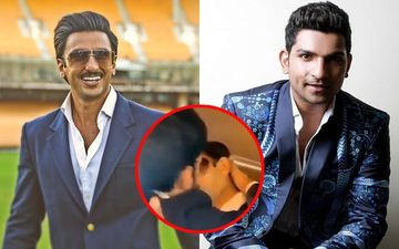 Ranveer Singh And Jatin Sarna Lip-Lock; '83 Actor Concerned Of His Wife Deepika Padukone's Reaction - VIDEO