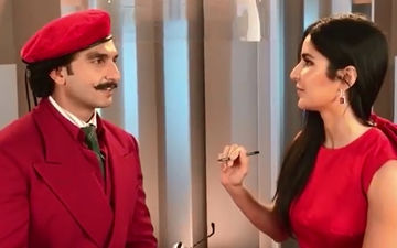 Ranveer Singh's 'Unprecedented Level Of Hotness' Is Now Achieved, Thanks To Katrina Kaif – Watch This Hilarious Video