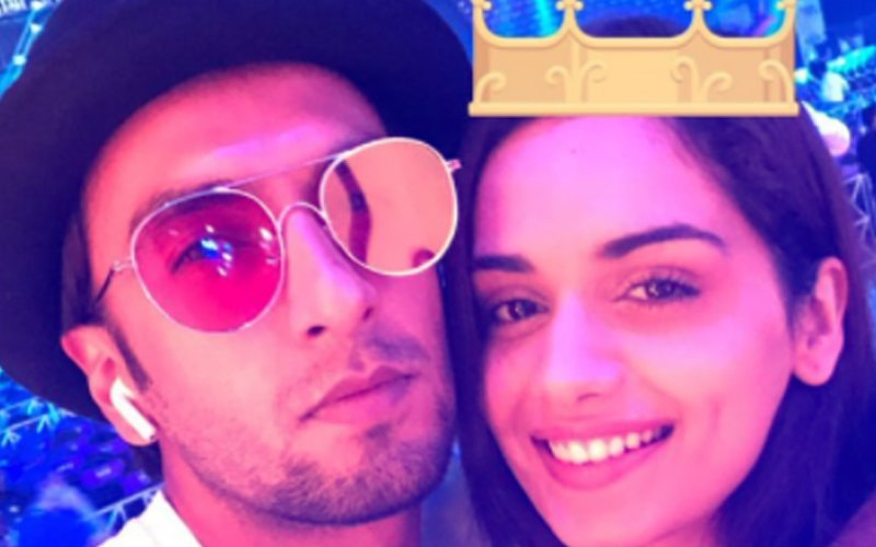 FILMFARE AWARDS 2018: This PIC Of Ranveer Singh & Manushi Chhillar Is Too Cool For Words!