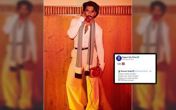 Ranveer Singh Asks 'What Is Mobile Number?' In Quirky New Post; Nagpur Police And UP Police Have A SAVAGE Response
