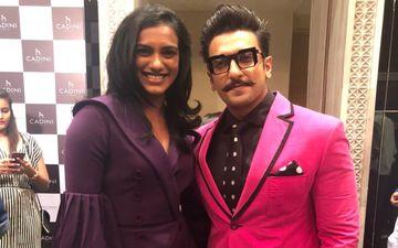 बैडमिंटन खिलाड़ी पी.वी. सिंधु से मुलाकात को रणवीर सिंह ने बताया फैन मूमेंट