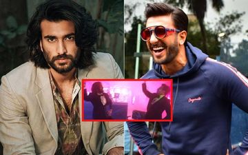 Ranveer Singh Dances On Malhari With Sanjay Leela Bhansali's new found actor Meezaan; Watch Video