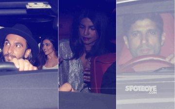SEE PICS: Ranveer Singh, Deepika Padukone, Priyanka Chopra & Farhan Akhtar Gather At Ritesh Sidhwani's Birthday Bash