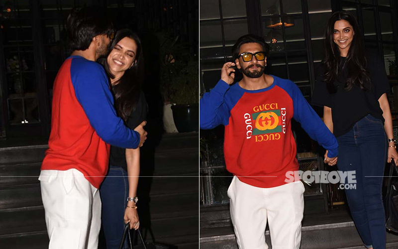 Ranveer Singh-Deepika Padukone's Dinner Date Was Filled With Some Picture-Perfect Moments