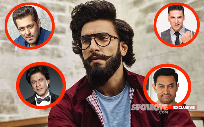 Ranveer Singh EXCLUSIVE Interview: Here's The Actor's Reply On Beating Salman-SRK-Aamir-Akshay in 2018
