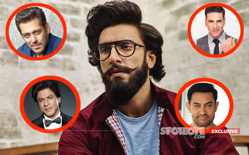 Ranveer Singh EXCLUSIVE Interview: Here's The Actor's Reply On Beating Salman-SRK-Aamir-Akshay in 2018