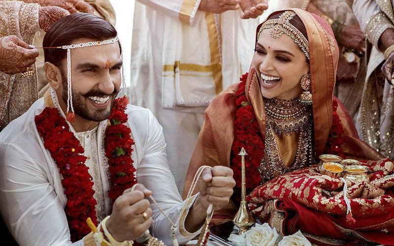 दीपिका-रणवीर शादी: आखिरकार खत्म हुआ इंतजार, सामने आई पहली ऑफिसियल तस्वीरें