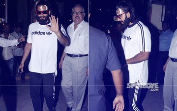 In Pictures: Ranveer Singh Leaves The Hospital With Stitches After Injuring Himself On The Sets Of Padmavati