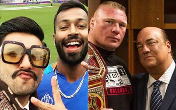Ranveer Singh Issued Warning By WWE Wrestler Brock Lesnar's Manager Paul Heyman For Using A Catchphrase