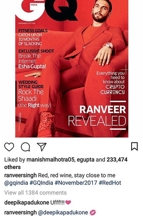 ranveer singh poses for a photo shoot