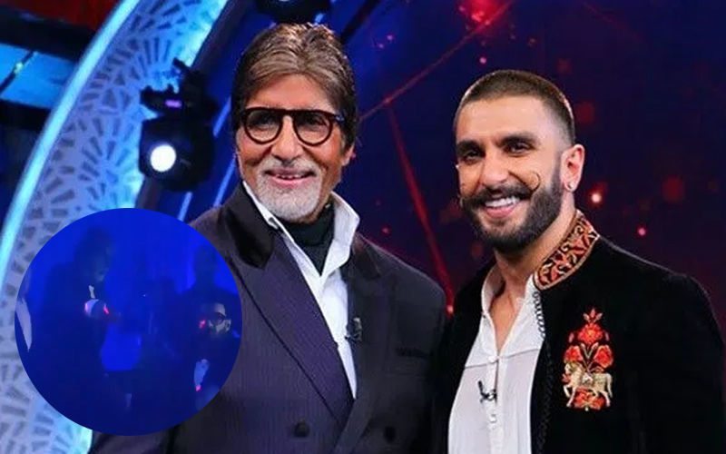अमिताभ बच्चन संग मिलकर रणवीर सिंह ने किया जुम्मा चुम्मा गाने पर डांस, नजरें नहीं हटा पाएंगे आप