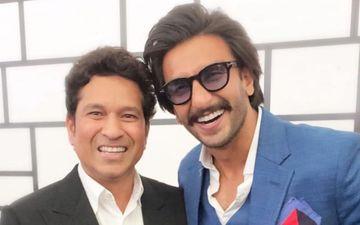 क्रिकेट के भगवान' सचिन तेंदुलकर से मिलकर खुशी से फुले नहीं समां रहे हैं रणवीर सिंह