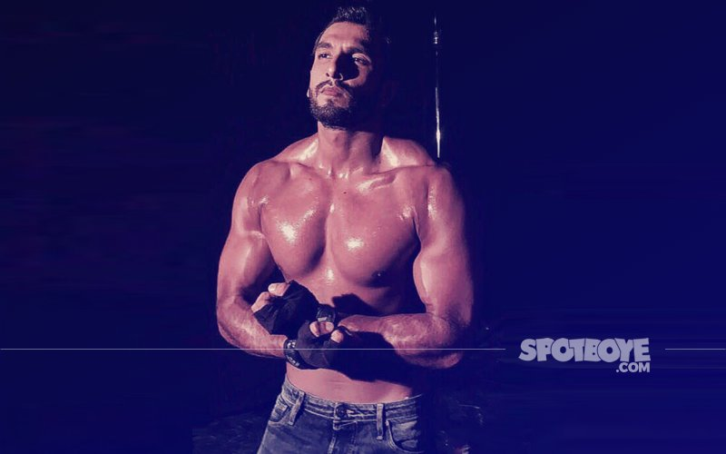 SHIRTLESS Ranveer Singh Gives A Peek At His DELICIOUS Ripped Abs In A New Photo Shoot