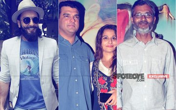 Ranveer Singh, Vidya Balan, Siddharth Roy Kapur & Dangal Director Gang Up