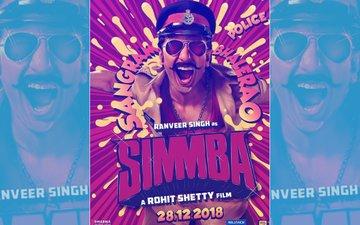Simmba First Look: After Salman Khan, Ranveer Singh Turns A Mischievous Cop