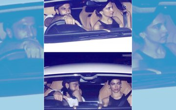 Ranveer Singh Takes Deepika Padukone For A Drive In His New Car To Ring In His 32ND Birthday