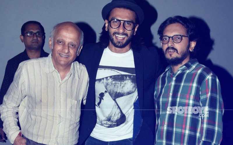 Ranveer Singh Visits Bhatts' Office. Is A Film In The Pipeline?