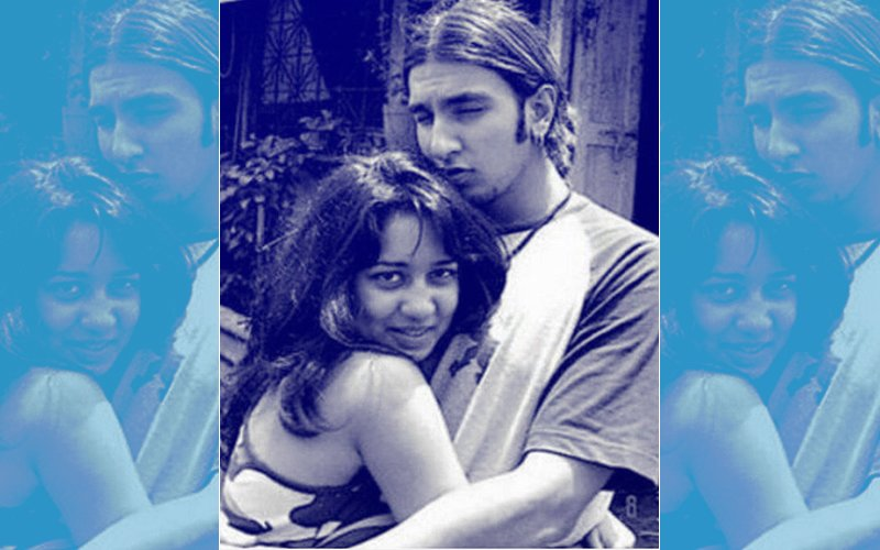 Yes, That's Ranveer Singh Hugging A Female Friend In This Throwback Picture!