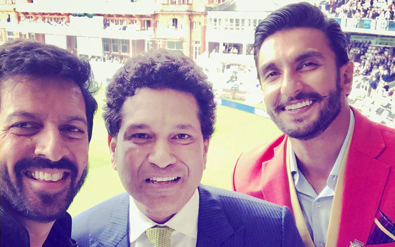 Ranveer Singh & Kabir Khan Visit Lord's To Start Prep On 83; Share Fan Moment With Sachin Tendulkar