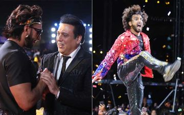 Zee Cine Awards 2020: Ranveer Singh Pays An Electrifying Tribute To His Screen Idol Govinda-INSIDE PICTURES