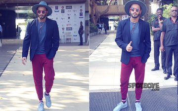 SPOTTED: Ranveer Singh At His Stylish Best