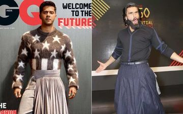 Varun Dhawan Does A Ranveer Singh, Wears A Skirt For Mag Shoot; Detractors And Trolls Get An EPIC Reply From The Actor