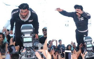 रणवीर सिंह के भीड़ में कूदने से कई फैंस हुए घायल, सोशल मीडिया पर लोगों ने उन्हें किया ट्रोल
